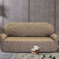 Чехол на четырехместный диван универсальный Мальта Марон