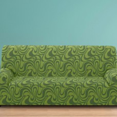 Чехол на четырехместный диван универсальный Данубио Верде