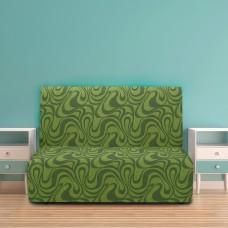 Чехол на диван без подлокотников универсальный Данубио Верде