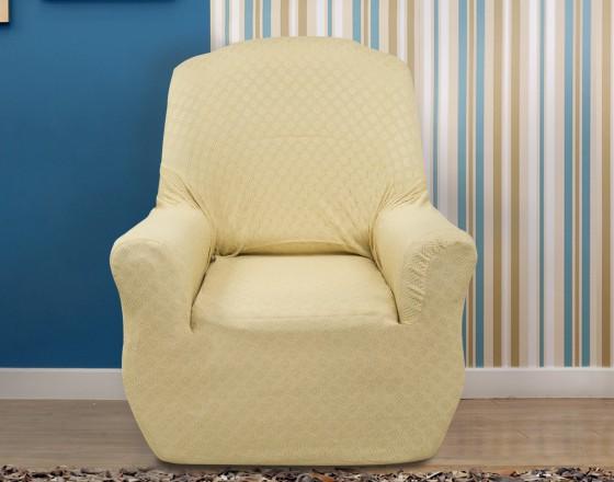 Чехол на кресло универсальный Миро Беж
