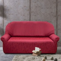 Комплект чехлов Бостон Рохо на 3-ёх местный диван и два кресла Универсальный
