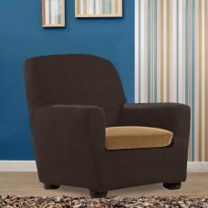 Аляска Беж. Чехол на подушку для кресла Универсальный