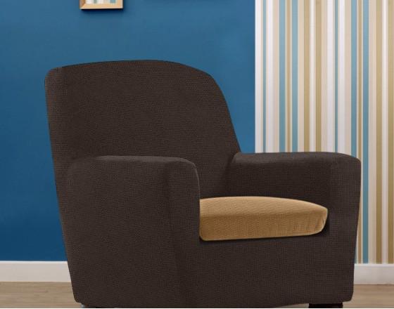 Чехол на подушку для кресла универсальный Аляска Беж