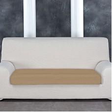 Аляска Беж. Чехол на подушку для дивана Универсальный