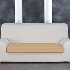 Тейде Беж. Чехол на подушку для дивана Универсальный