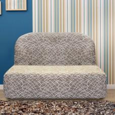 Чехол на диван без подлокотников универсальный Греция Висон