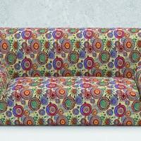 Чехол на диван четырехместный. Сингапур.  Универсальный
