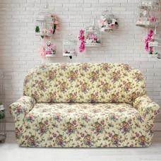 Чехол на трехместный диван универсальный Кретоне Марфил