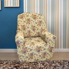 Чехол на кресло универсальный Кретоне Беж