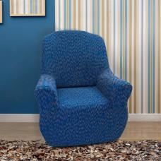 Чехол на кресло универсальный Нью-Йорк Фэшн Блу