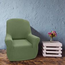 Чехол на кресло универсальный Нью-Йорк Киви