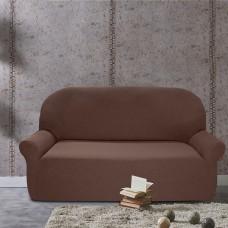 Чехол на трехместный диван универсальный Нью-Йорк Чоколато