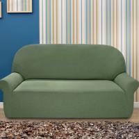 Чехол на трехместный диван универсальный Нью-Йорк Киви