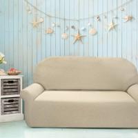 Чехол на трехместный диван универсальный Нью-Йорк Меланж