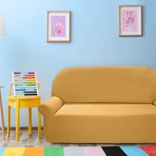 Чехол на трехместный диван универсальный Нью-Йорк Охра