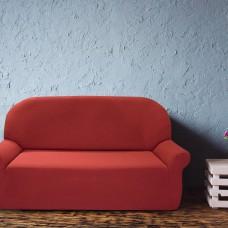 Чехол на трехместный диван универсальный Нью-Йорк Рубино