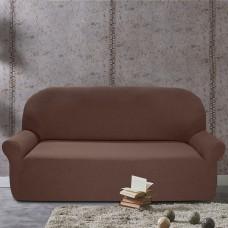 Чехол на четырехместный диван универсальный Нью-Йорк Чоколато