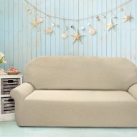 Чехол на четырехместный диван универсальный Нью-Йорк Ночиола Меланж