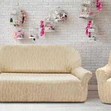 Комплект чехлов (Маломерка) Тоскана Марфил на 3-ёх местный диван и два кресла Универсальный
