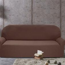 Чехол на пятиместный диван универсальный Нью-Йорк Чоколато