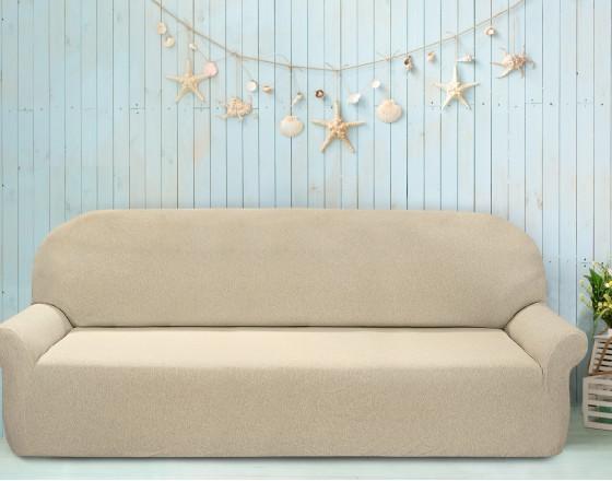 Чехол на шестиместный диван универсальный Нью-Йорк Меланж