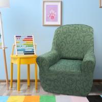 Чехол на кресло универсальный Бостон Верде