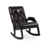 Кресло-качалка 67 каркас Венге, экокожа Oregon perlamutr 120