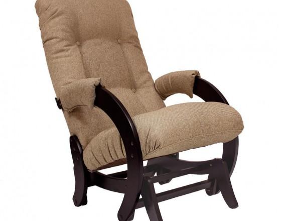 Кресло-качалка глайдер  68 каркас Венге, ткань Malta 03 А