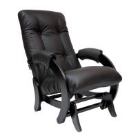 Кресло-качалка глайдер 68 каркас Венге, экокожа Dundi 108