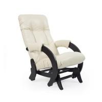 Кресло-качалка глайдер 68 каркас Венге, экокожа Dundi 112