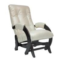 Кресло-качалка глайдер 68 каркас Венге, экокожа Oregon perlamutr 106