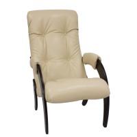 Кресло для отдыха  Модель 61, Венге, к/з Polaris Beige