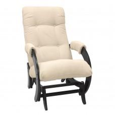 Кресло-качалка глайдер 68 каркас Венге, ткань Verona Vanilla