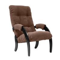 Кресло для отдыха Модель 61 каркас Венге ткань  Verona Brown