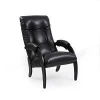 Кресло для отдыха  Модель 61, Венге, к/з Vegas Lite Black