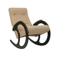 Кресло-качалка 3 каркас Венге, ткань Malta 03 А