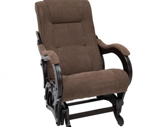Кресло-качалка глайдер 78 каркас Венге, ткань Verona Brown