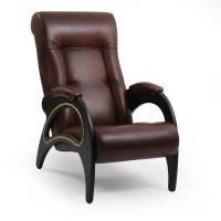 Кресло для отдыха  Модель 41  Венге, к/з Antik crocodile