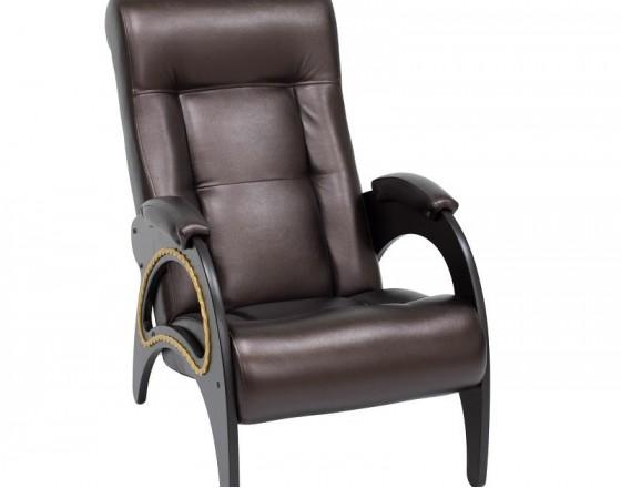 Кресло для отдыха Модель 41 каркас Венге ткань  Oregon perlamutr 120