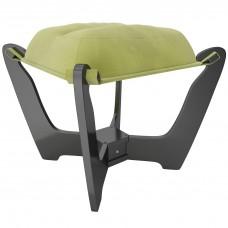 Пуф МИ Модель 11.2 венге, Венге, ткань Verona Apple Green