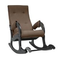 Кресло-качалка с подножкой 707, Венге, ткань Verona Brown