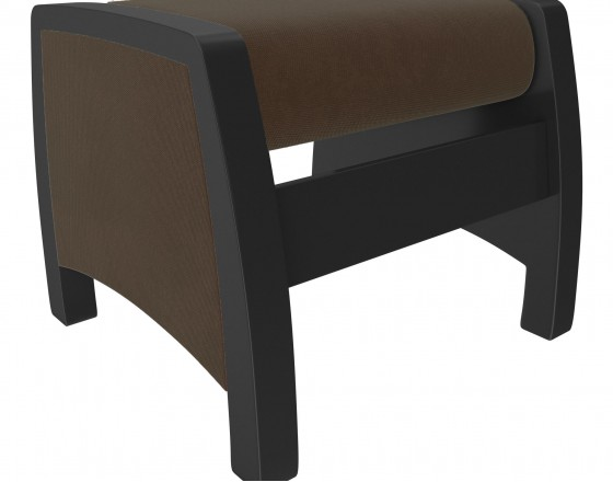 Пуф-глайдер МИ Модель 103 , Венге, ткань Verona Brown