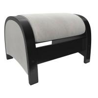 Пуф-глайдер МИ Модель Balance 2, Венге/шпон, ткань Verona Light Grey