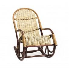 Кресло-качалка плетеное из лозы. Усмань, орех