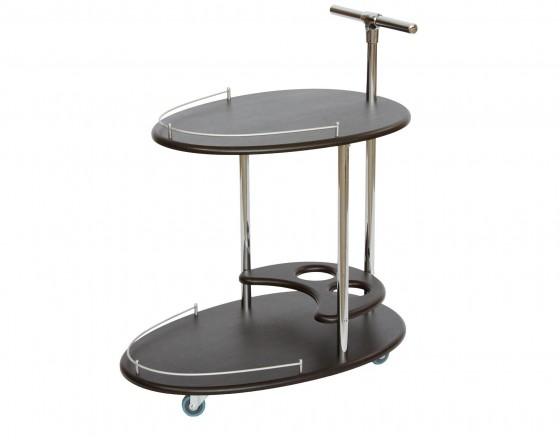 Стол сервировочный Leset Брум, венге