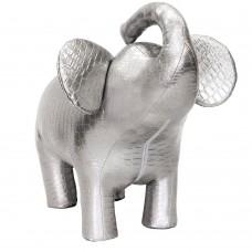 Пуф Leset Слон 2, Серебристый