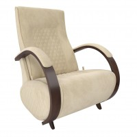 Кресло-глайдер  Balance-3 каркас Орех/шпон, ткань Verona Vanilla