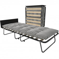 Раскладная кровать на ламелях с матрасом и изголовьем Leset Модель 205