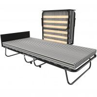 Кровать раскладная на ламелях с матрасом и изголовьем Leset Модель 208