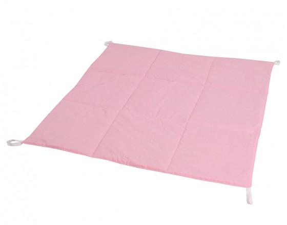 Стеганый игровой коврик Simple Pink